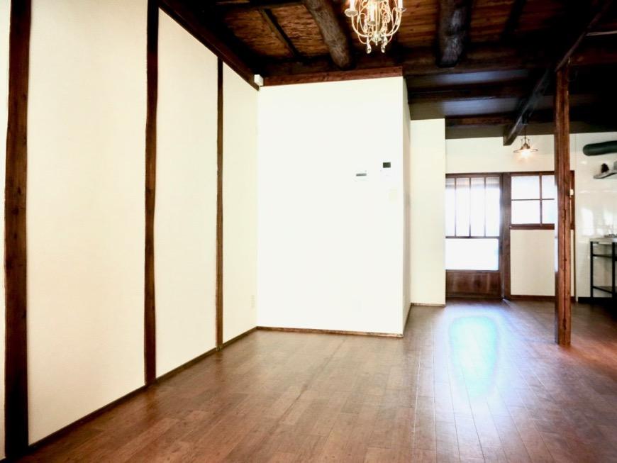 16帖LDK。和風の台所。美しい佇まい。古民家風戸建てリノベーション。BB Style~SAKIGAKE~0