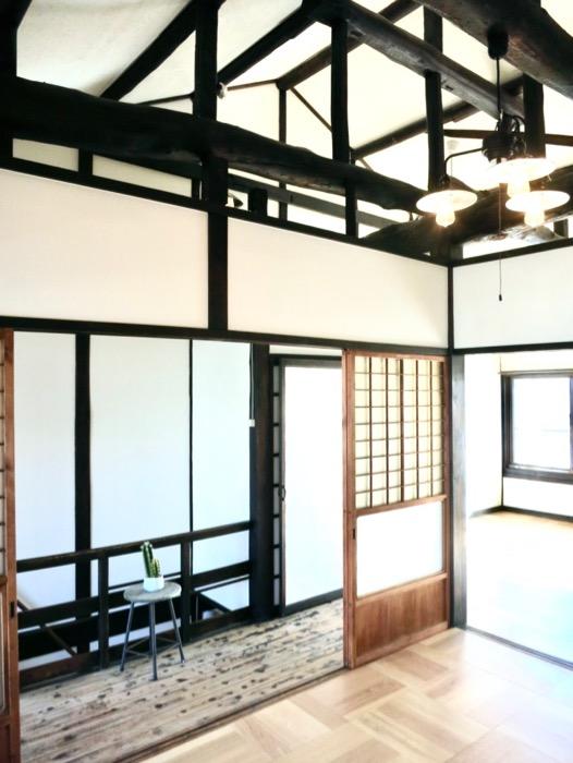 2F 梁のあるお家。古民家風戸建てリノベーション。BB Style~SAKIGAKE~22