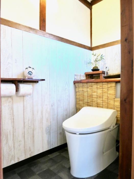 風情のあるトイレ。古民家風戸建てリノベーション。BB Style~SAKIGAKE~6