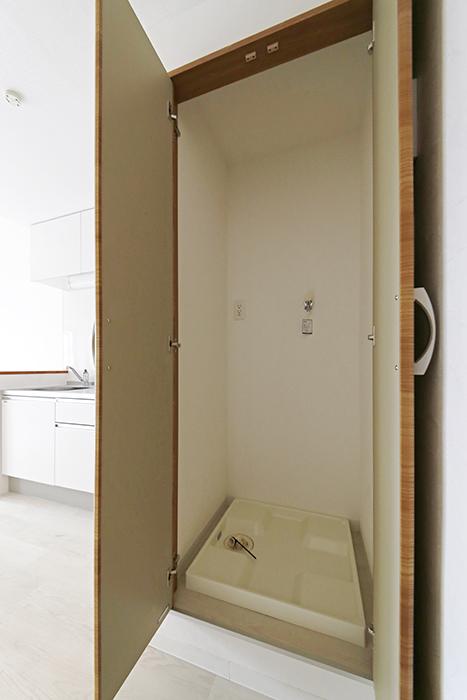 【おがわビル】301号室_LDK_室内洗濯機置き場_MG_3353