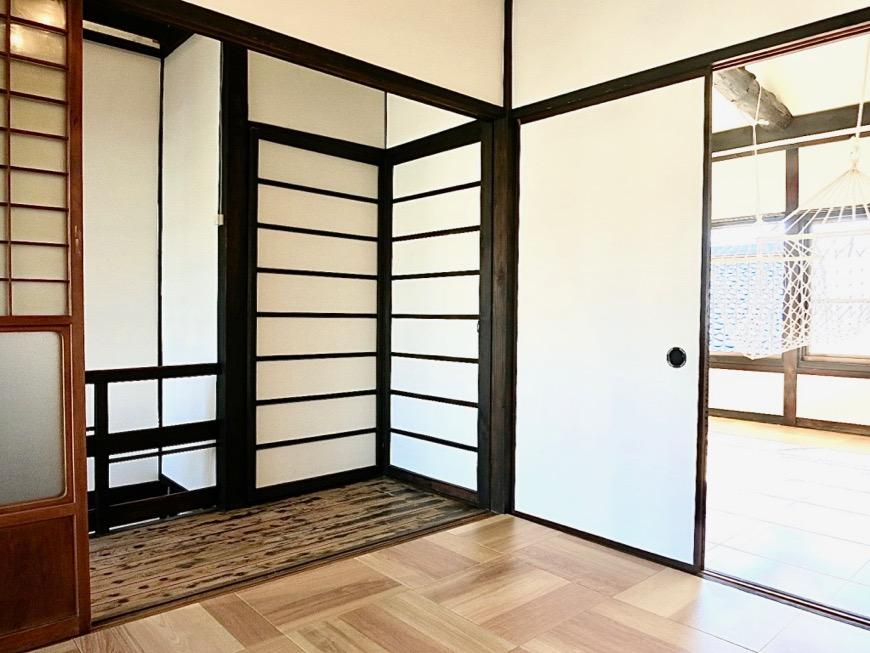 2階。風情ある和モダンな家。古民家風戸建てリノベーション。BB Style~SAKIGAKE~5