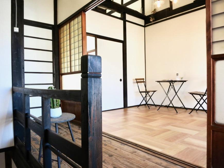 2階。風情ある廊下からの景色。古民家風戸建てリノベーション。BB Style~SAKIGAKE~0