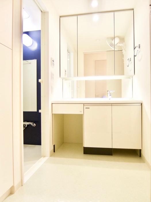 清潔感あふれるサニタリー&バスルーム。コンシェルジュがいる賃貸マンション。ロイヤルパークスERささしま0