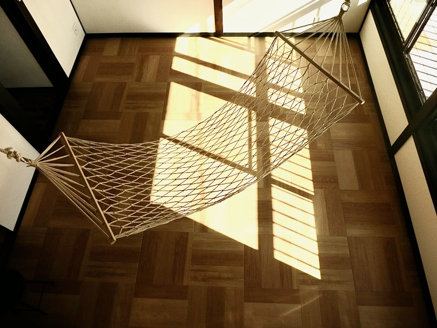 2階。屋根裏 ロフトからなの景色。古民家風戸建てリノベーション。BB Style~SAKIGAKE~9