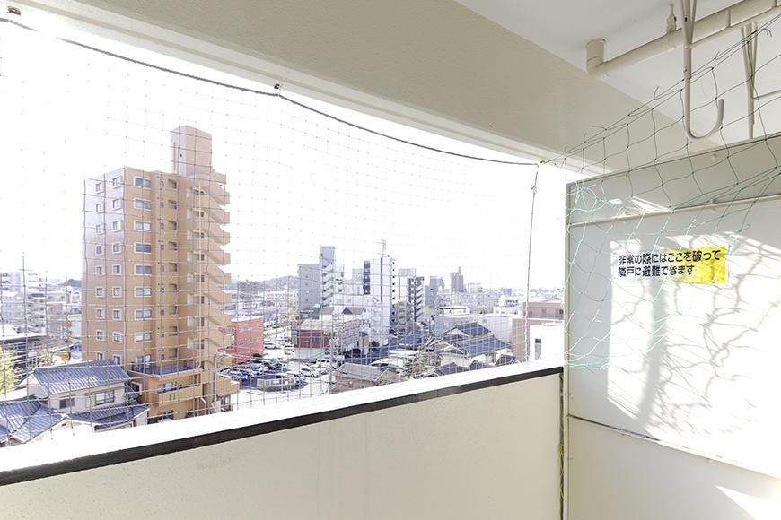 【おがわビル】601号室_LDK_ベランダからの眺望_MG_3105