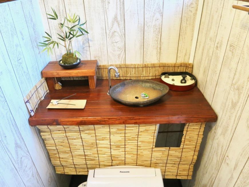 風情のあるトイレ。古民家風戸建てリノベーション。BB Style~SAKIGAKE~1