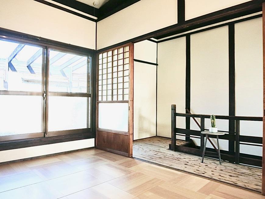 2F 梁のあるお家。古民家風戸建てリノベーション。BB Style~SAKIGAKE~5