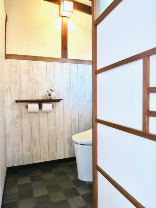 風情のあるトイレ。古民家風戸建てリノベーション。BB Style~SAKIGAKE~0