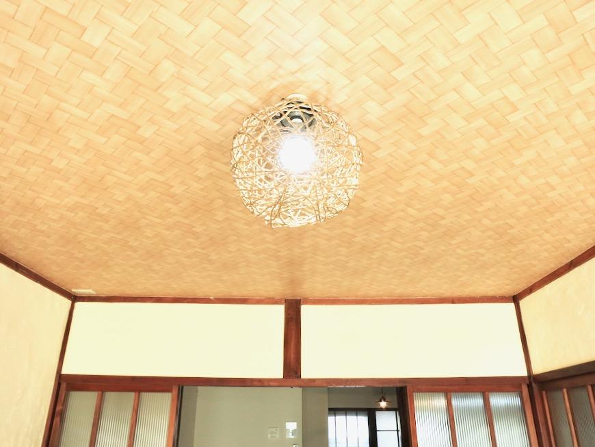 和室。丸窓・漆喰・畳・6帖 古民家風戸建てリノベーション。BB Style~SAKIGAKE~4