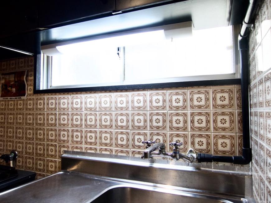 キッチン台。70年代ノスタルジック Ma Chambre Fuji 406号室2
