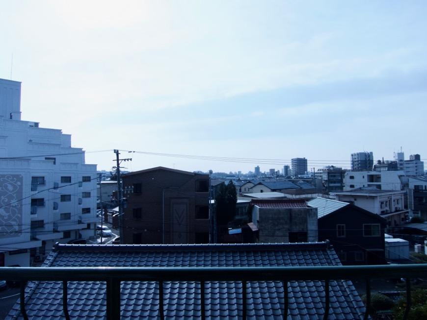 バルコニー。 70年代ノスタルジック Ma Chambre Fuji 406号室2