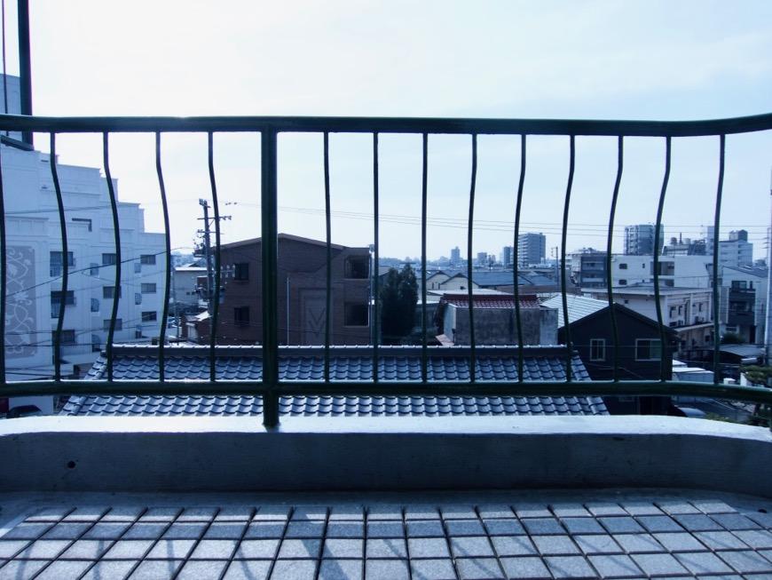 バルコニー。 70年代ノスタルジック Ma Chambre Fuji 406号室0