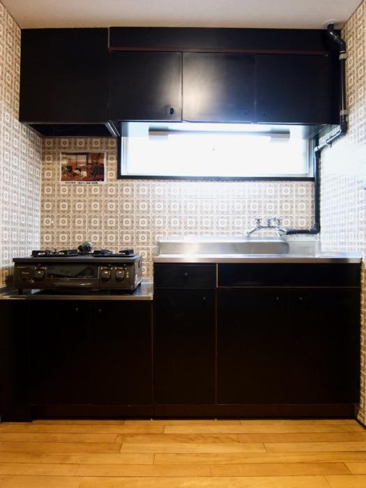 キッチン台。70年代ノスタルジック Ma Chambre Fuji 406号室4