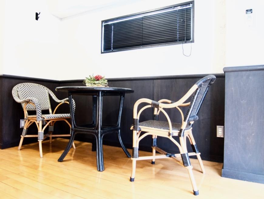 洋室8帖 モノトーンが美しい70年代ノスタルジックなお部屋。Ma Chambre Fuji 406号室0