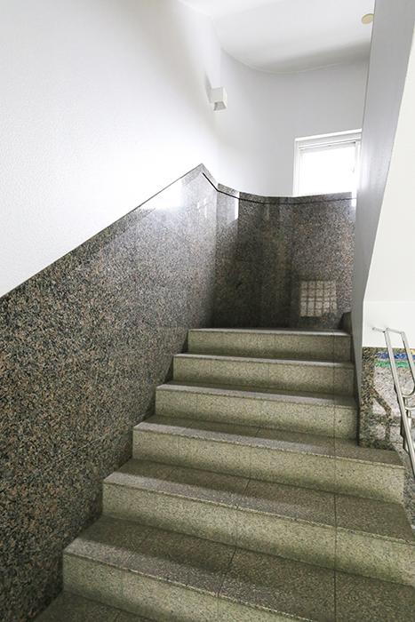 いりなか駅【南山ビル】_共有部・設備_エントランスからの階段_MG_3898