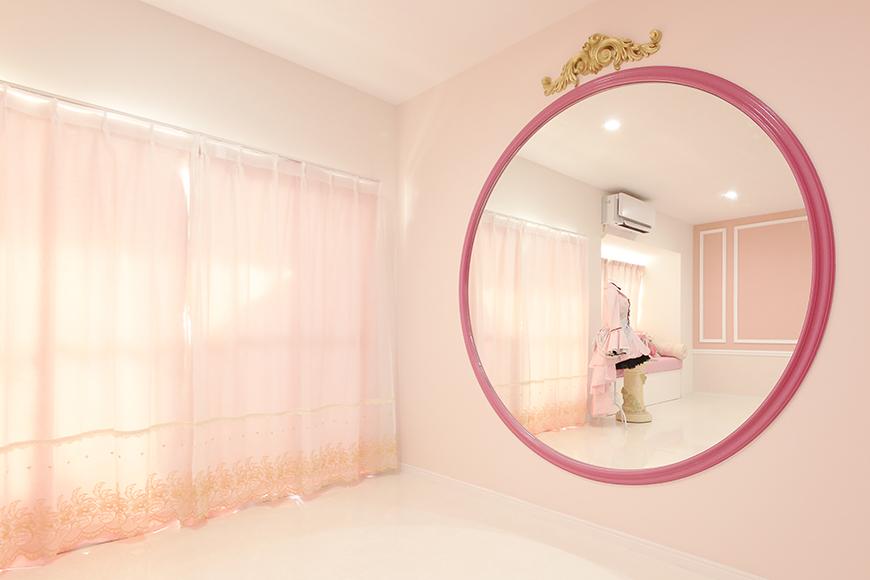 浄心駅【猪村ビル】窓際の大きな鏡_MG_6777s