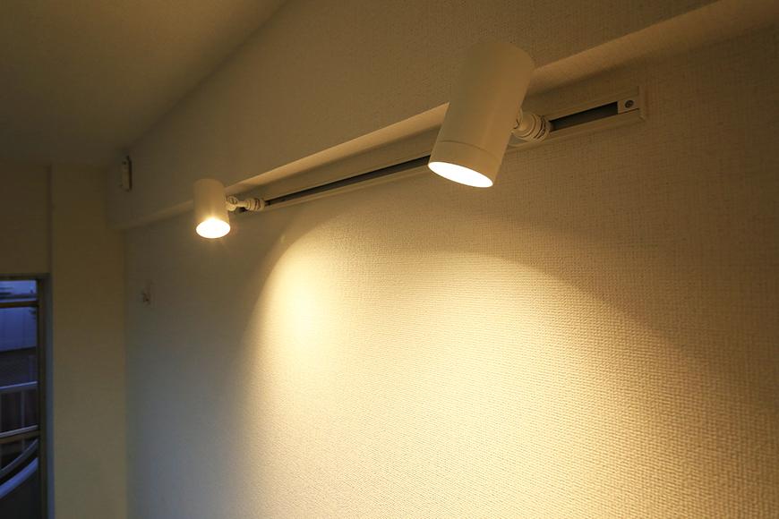 本山【平和第2マンション】2E号室_LDK_キッチン周り_間接照明_MG_4951