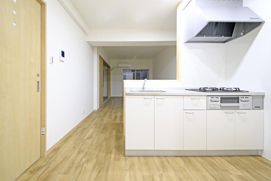 本山【平和第2マンション】1A号室_LDK_キッチン周り_MG_5052