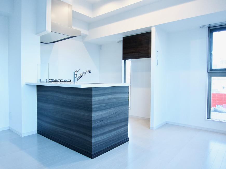 キッチンスペース スタイリッシュ&クールな空間。 FIRST RESIDENCE SAKAE0