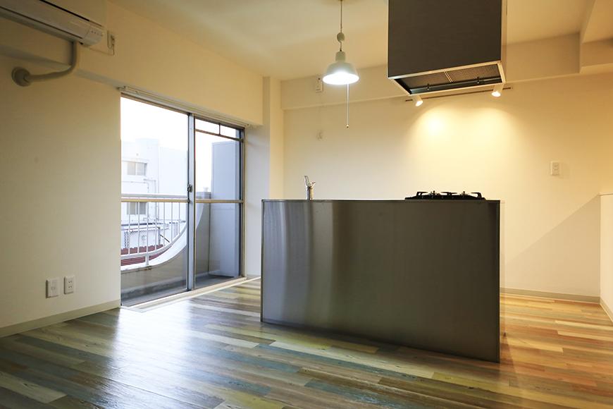 本山【平和第2マンション】2E号室_LDK_キッチン周り_MG_4914