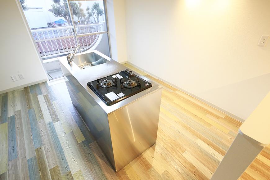本山【平和第2マンション】2E号室_LDK_キッチン周り_MG_4854