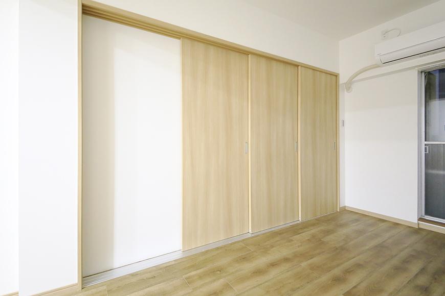 本山【平和第2マンション】1A号室_LDKと洋室の仕切りドア_MG_5189