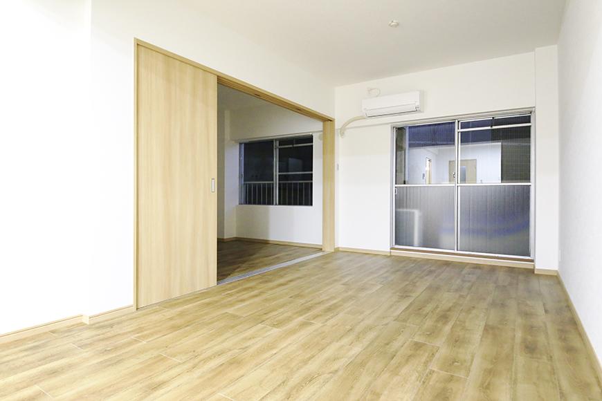 本山【平和第2マンション】1A号室_LDK_全景_MG_5168