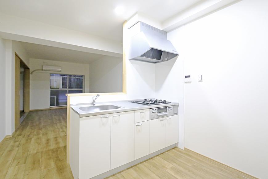 本山【平和第2マンション】1A号室_LDK_キッチン周り_MG_5047