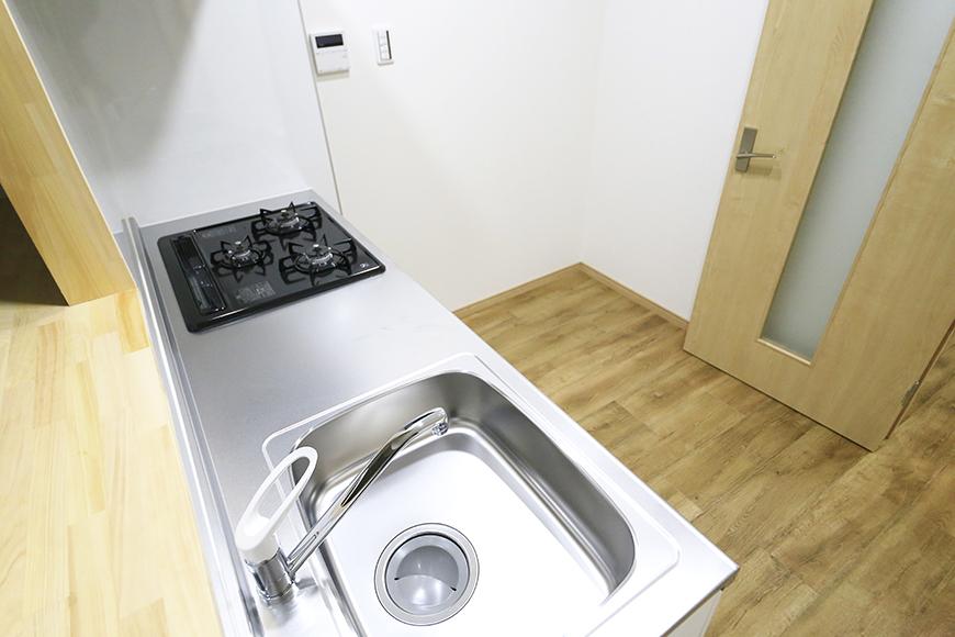 本山【平和第2マンション】1A号室_LDK_キッチン周り_MG_5240