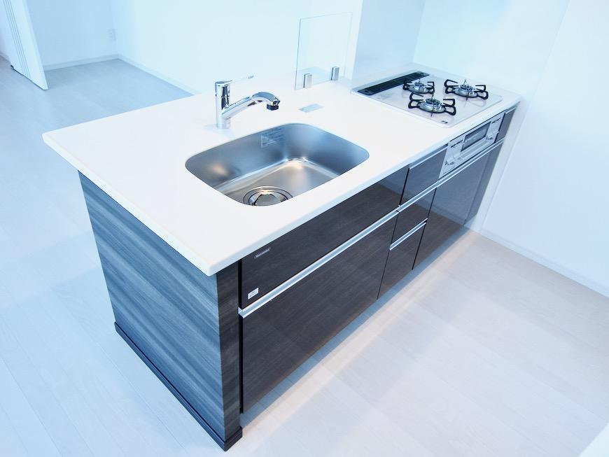 キッチンスペース スタイリッシュ&クールな空間。 FIRST RESIDENCE SAKAE1
