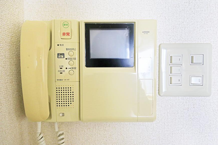 【丸の内セントラルハイツ】503号室_LDK_TVモニタ付きインターフォン_MG_6398