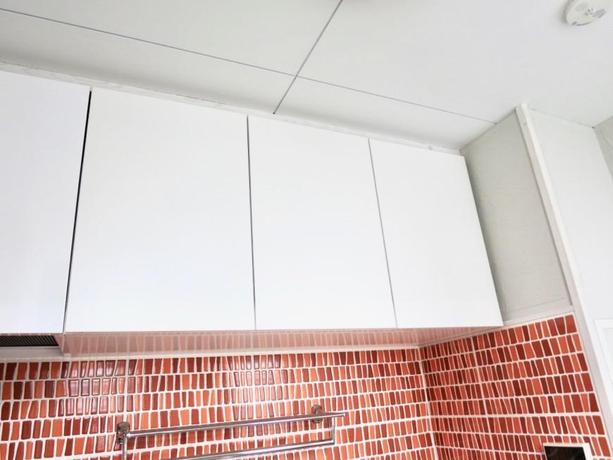 1F モザイクタイルのキッチン。BOX HOUSE 5B号室8