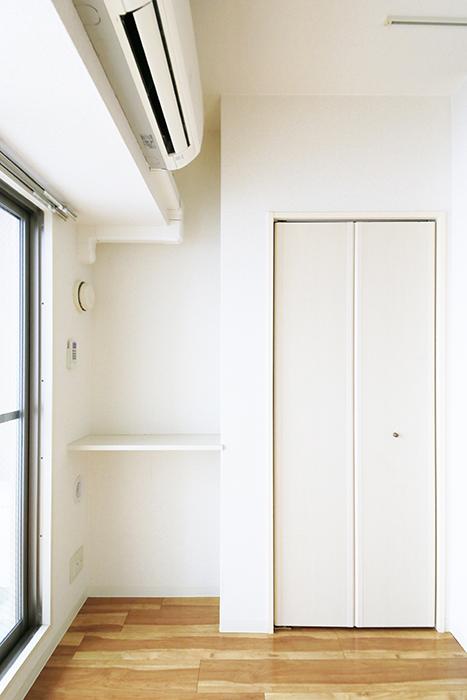【丸の内セントラルハイツ】805号室_洋室_棚・クローゼット収納_MG_5818