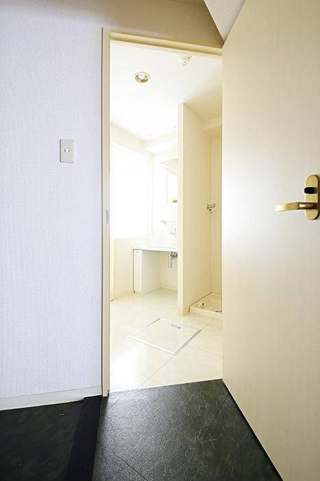【丸の内セントラルハイツ】503号室_玄関周り_水周りへのドア_MG_6132