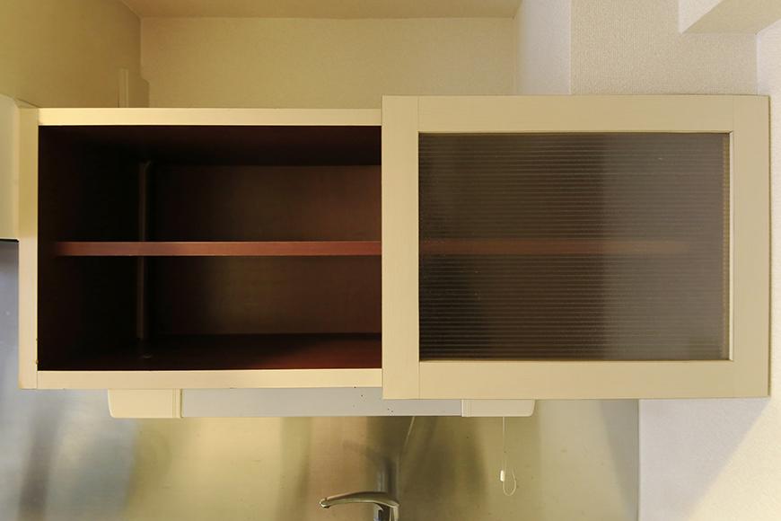 【ビアンカーサ】605号室_キッチン_頭上収納棚_MG_8090