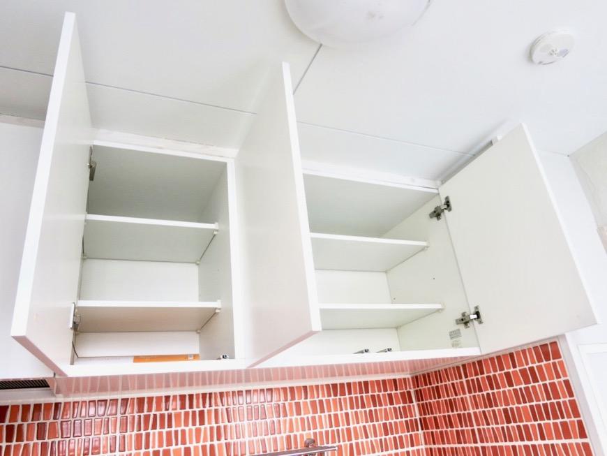 1F モザイクタイルのキッチン。BOX HOUSE 5B号室9