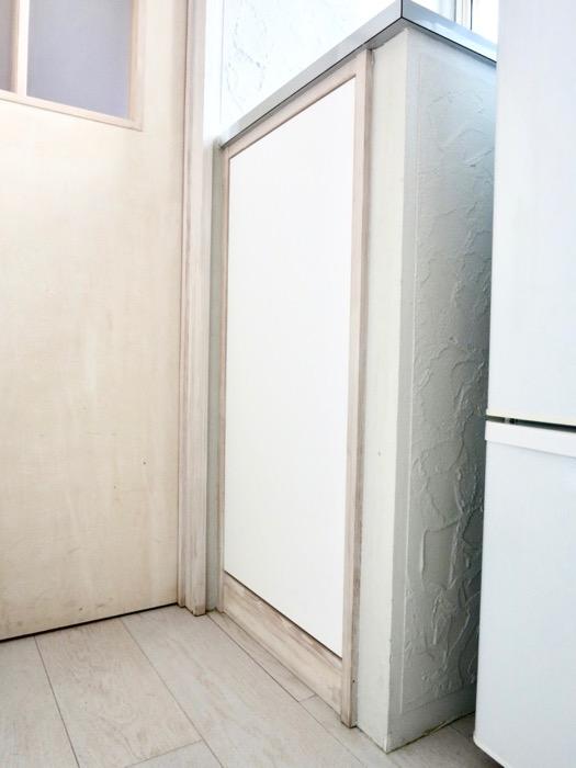 1F モザイクタイルのキッチン。BOX HOUSE 5B号室5