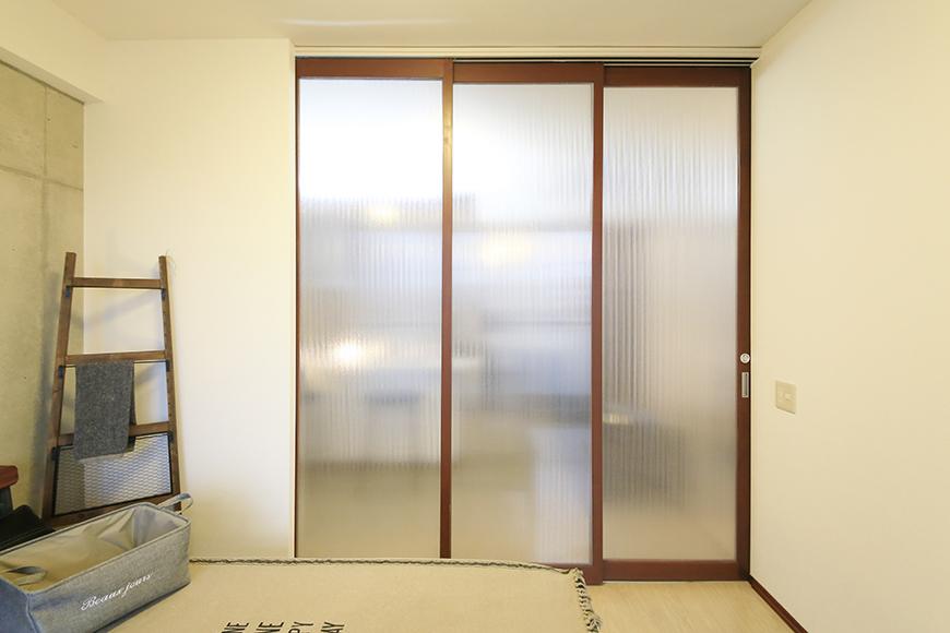 上小田井【SK BUILDING 7】307号室_LDK_仕切りドアをクローズ_MG_4485