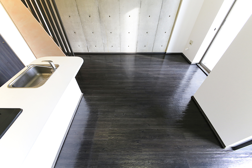 上小田井【SK BUILDING 7】705号室_LDK_リビング・キッチン全景MG_3485