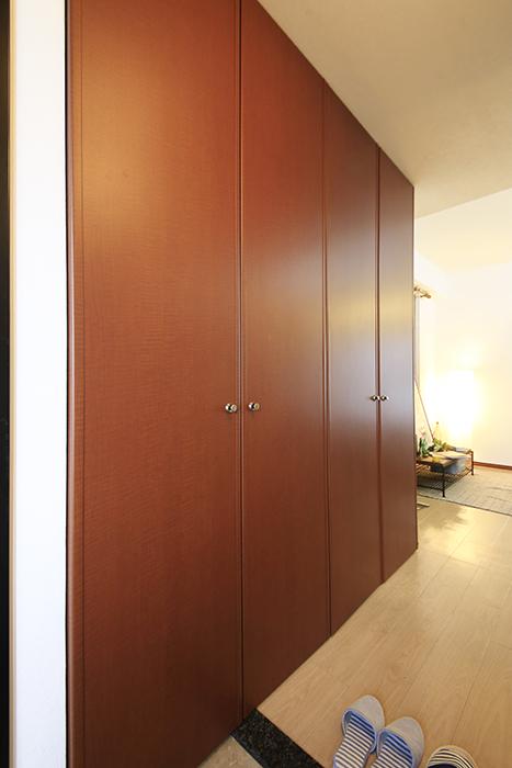 上小田井【SK BUILDING 7】307号室_玄関周り_シューズボックス・室内洗濯機置き場_MG_4158
