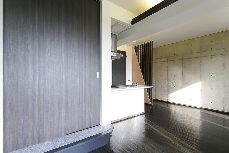 上小田井【SK BUILDING 7】705号室_LDK_和室のドア、キッチンへ_MG_3217