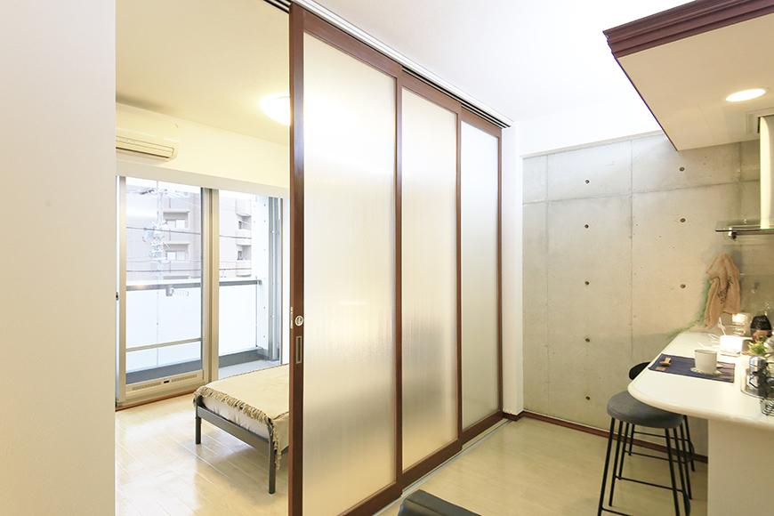 上小田井【SK BUILDING 7】307号室_LDK_仕切りドアをクローズ_MG_4460