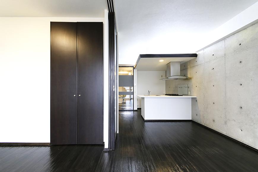 上小田井【SK BUILDING 7】406号室_洋室とリビング_MG_3988