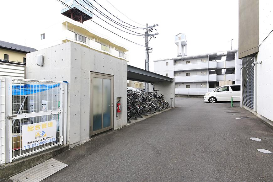 上小田井【SK BUILDING 7】共有部_駐輪場・駐車場_MG_4115