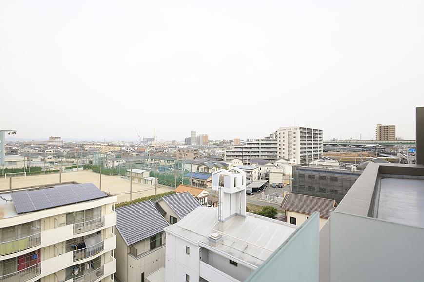上小田井【SK BUILDING 7】705号室_7階の共有部・廊下からの眺望_MG_3620