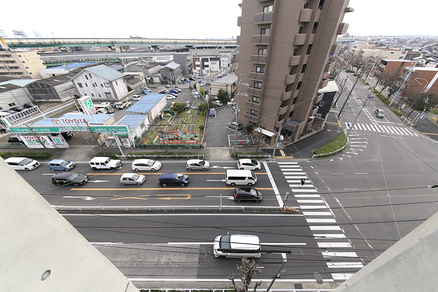 上小田井【SK BUILDING 7】705号室_ベランダからの眺望_MG_3352