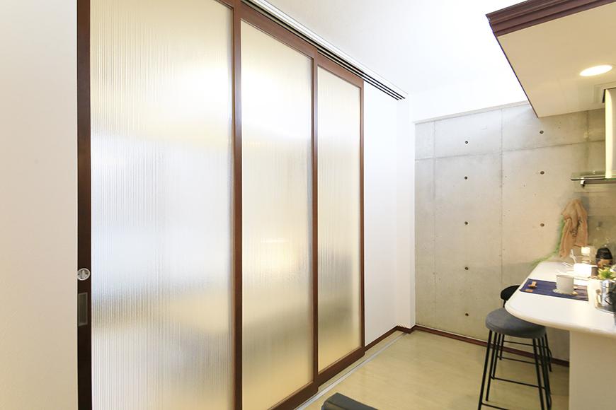 上小田井【SK BUILDING 7】307号室_LDK_仕切りドアをクローズ_MG_4465