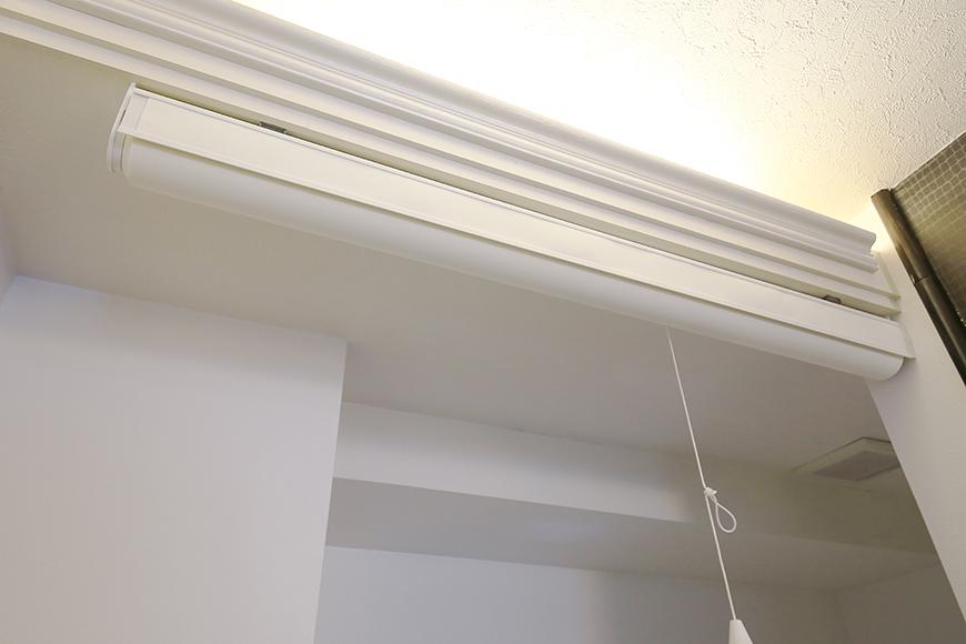 上小田井【SK BUILDING 7】406号室_水周り_トイレ_仕切りのロールカーテン_MG_3771