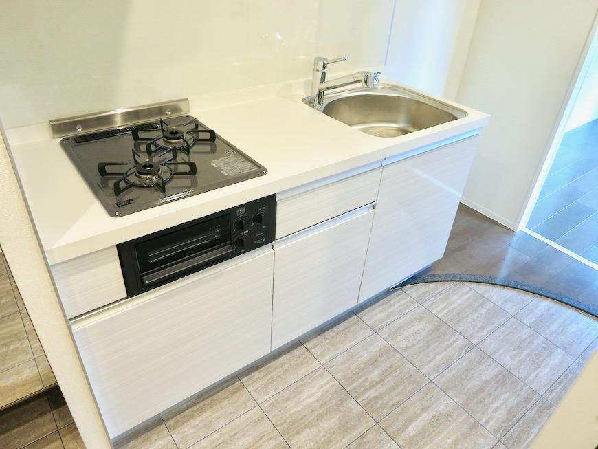 スマートなキッチン台。外観・共有 unroom404号室2