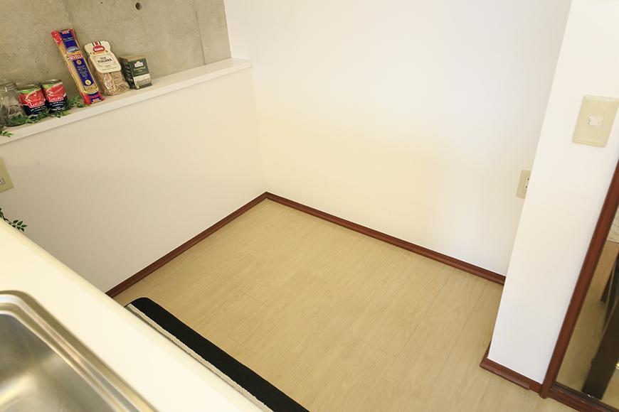 上小田井【SK BUILDING 7】307号室_キッチン周り_冷蔵庫置き場_MG_4317
